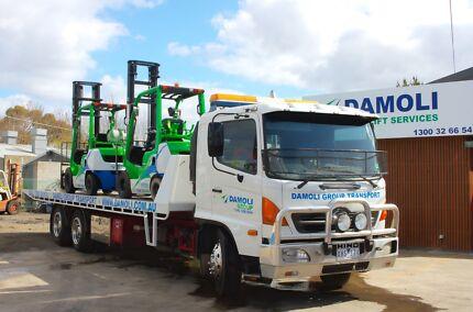 Damoli Transport - Machinery up to 8 tone