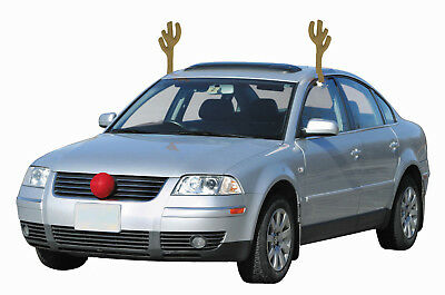 Original Christmas Antlers Car Costume Rudolph Reindeer  ***FREE SHIPPING..!!***