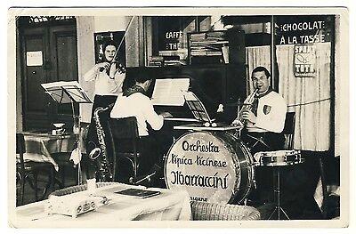 Ticino LUGANO Orchestra Tipica Ticinese MARRACCINI Tessin * Foto-AK um 1950
