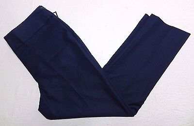 New   Womens Navy Slim Leg Ankle Pants   Investments   Size 10P Petite   Gp34