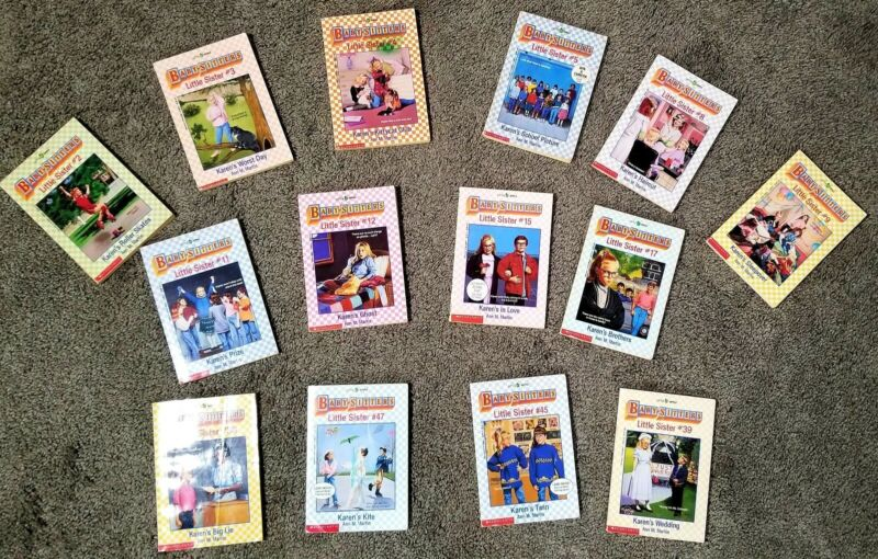 Babysitters Little Sister Books - You Pick 4 From Lot