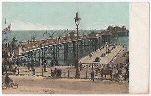 POSTCARD-SUSSEX-Brighton-marine-Palace-Pier