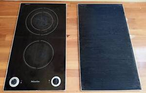 MIELE TWIN BURNER CERAMIC COOKING HOB AND POT REST + MANUALS Cromer Manly Area Preview