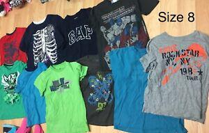 Boys clothing size 7/8