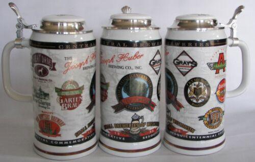 New Glarus Brewing Co, New Glarus,  Wisconsin 1998 beer stein