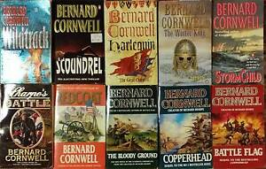 Bernard Cornwell - 10 ASSORTED PAPERBACKS - some very RARE Gilmore Tuggeranong Preview