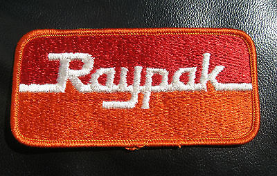 Raypak Spa (RAYPAK EMBROIDERED SEW ON PATCH SWIMMING POOL SPA HEATER RHEEM COMPANY  )