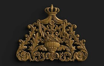 Stl Model Of Large Religious Crown