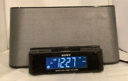 SONY DREAM MACHINE ICF-CS10iP~AM FM Clock Radio w/ ipod/iphone Speaker Dock