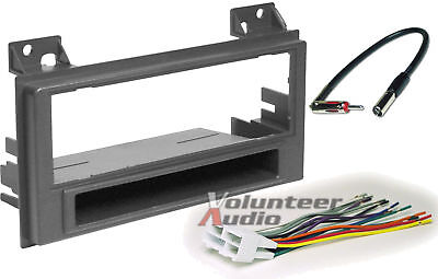 Install Dash Kit Gmc Jimmy - Car Radio Stereo CD Player Dash Install Mounting Trim Bezel Panel Kit + Harness