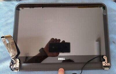 """Genuine Dell Inspiron 15z 5523 TouchScreen LCD Display RIGHT /""""R/"""" Hinge w// Screws"""