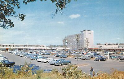 YONKERS New York US USA postcard Westchester County Cross County shopping (Cross County Center)