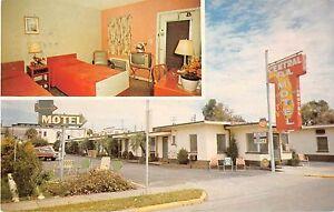 Haines City Florida Central Florida Motel Vintage Postcard