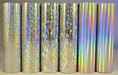 Craft Dragon foil 6 pack holographic TODO foil hot foiling stamping print 53p/m