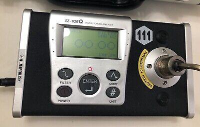Mountz Ez-torq 10i 10 Inlb Torque Analyzer. Tested Worked Perfectly Hard Case