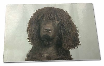 Irish Water Spaniel Dog Extra Large Toughened Glass Cutting, Choppin, AD-IWSGCBL