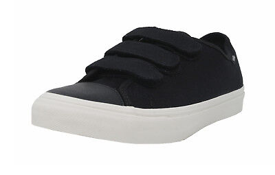 VANS Prison Issue Twill Black Adjustable Strap Sneakers Fashion Men -