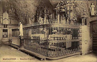 Mariastein Schweiz Suisse Solothurn ~1910 Gnaden Kapelle Altar Kirche ungelaufen