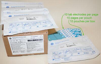 1000 Ge Resting Ecg Tab Electrodes. Hydrogel. Ref 2104780-001. Exp Jan-21
