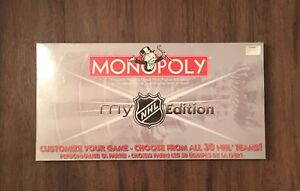 Limited Edition NHL Monopoly game