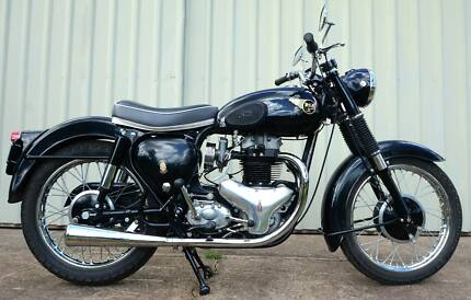 BSA 1960 A10 spitfire scrambler replica bike ground up resto