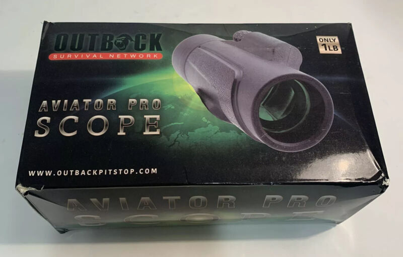 Outback Aviator Pro Scope Survival Network w/Optical Mounting Clip Only 1 lb.