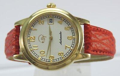BT Automatik Herren Armbanduhr vergoldet Ref.:BT101-212 Best Times Edition