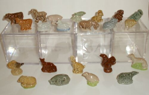 Wade Whimsies Produced for Tom Smith Cracker British Wildlife/Farmyard/Your Pets