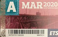 March ETS Adult Pass