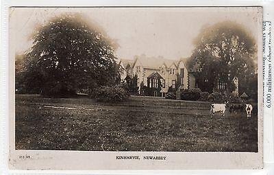 KINHARVIE, NEWABBEY: Kirkcudbrightshire postcard (C12725)