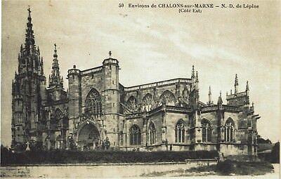 CPA -Carte postale-France-Chalons sur Marne - Notre Dame de Lépine (iv 438)
