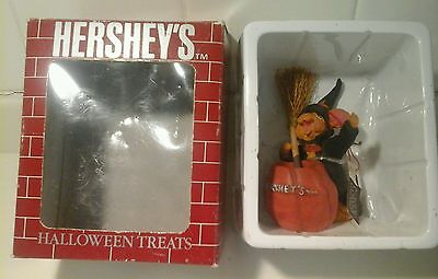 Hershey's World Collectible Fall Halloween Mouse with Jack-O-Lantern Kurt Adler - Halloween Hershey