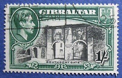 1938 GIBRALTAR 1S SCOTT# 114a S.G.# 127 USED  CS02031