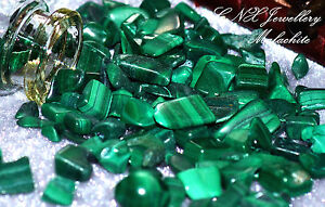 Tumbled Gemstone Crystal Malachite 5g Rare Collectable