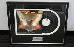 ZZ Top Autographed Eliminator LP - Billy Gibbons Nerang Gold Coast West Preview