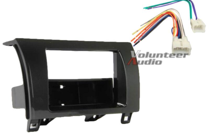 Toyota Tundra Sequoia Car Stereo Radio Install Dash Panel Trim Mount Kit Harness