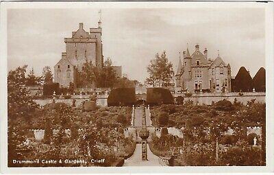Drummond Castle & Gardens, Nr CRIEFF, Perthshire RP