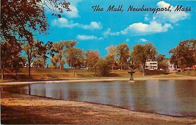 Newburyport Massachusetts~Geese on Far Shore, Children's Delight~The Mall (The Shore Mall)