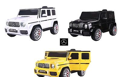 12V MERCEDES G63 AMG HIGH DOOR ELECTRIC RIDE ON SUV CAR JEEP PARENTAL REMOTE