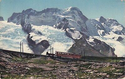 Postkarte - Zermatt / Le Breithorn