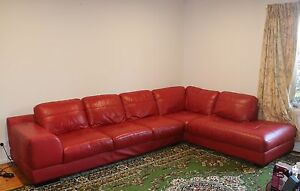Leather Modular Couch South Melbourne Port Phillip Preview