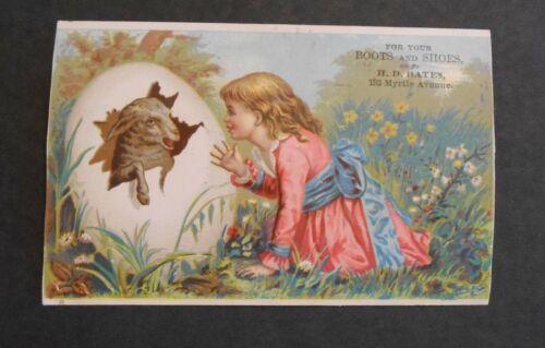 Victorian Trade Card 1880