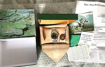 Rolex Datejust Gents Stainless Steel and Gold Diamond Watch Rolex Box Ref 16013