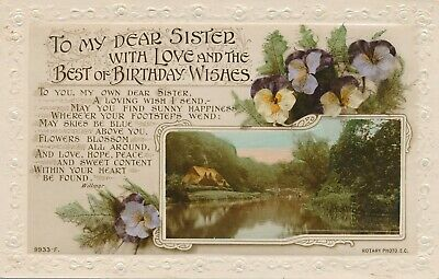 To My Dear Sister With Love and The Best Birthday (With Love And Best Wishes)