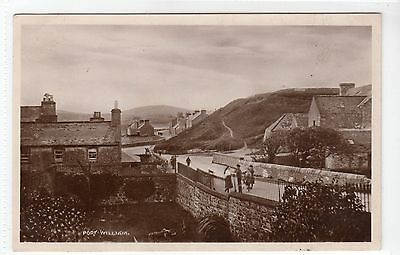PORT WILLIAM: Wigtownshire postcard (C13448)