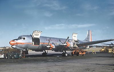 "American Airlines Douglas DC-7F ((8""x10"")) Print"