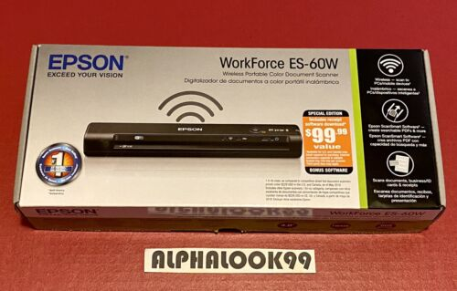 Epson WorkForce ES-60W Special Edition Wireless Portable Doc