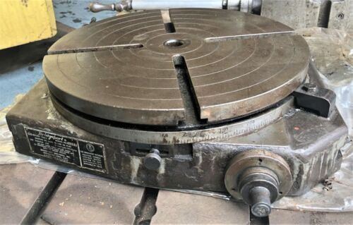 Bridgeport 15 inch Precision Rotary Table | # 4619