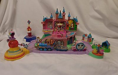 Disney World Magic Kingdom Polly Pocket Bluebird Castle Princess Mini Figure Lot