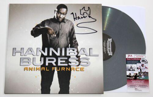 HANNIBAL BURESS SIGNED ANIMAL FURNACE LP COLOR VINYL RECORD COMEDY ALBUM JSA COA